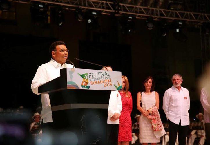 El gobernador Rolando Zapata destacó que aunque a Yucatán y Tamaulipas los separan cientos de kilómetros, son estados con la misma convicción: consolidar un México en paz y armonía. (SIPSE)