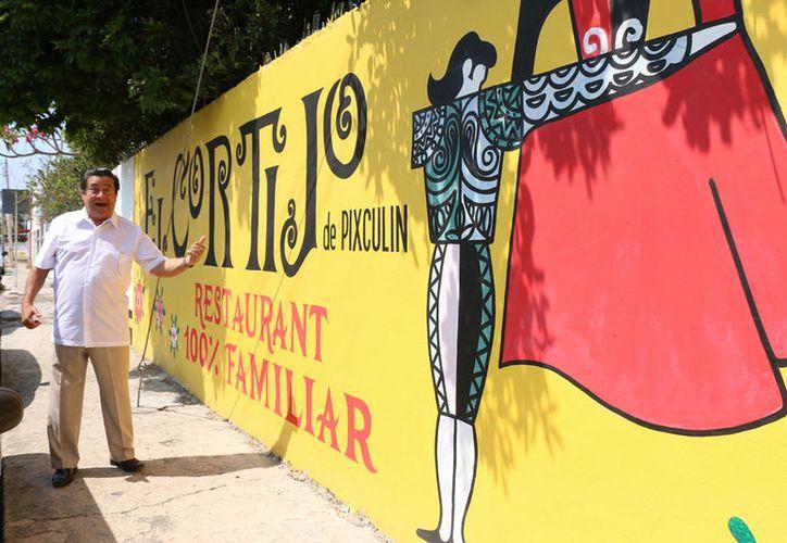 Manolo del Río festejará su labor teatral también en su restaurante. (Milenio Novedades)