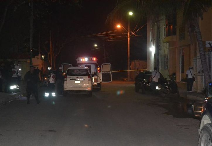 Un taxista fue asesinado anoche en la colonia Ejidal de Playa del Carmen. (Redacción/SIPSE)
