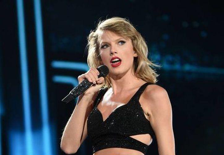 Taylor Swift, la triunfadora de la noche en los MTV Video Music Awards. La images es de de archivo. (AP)