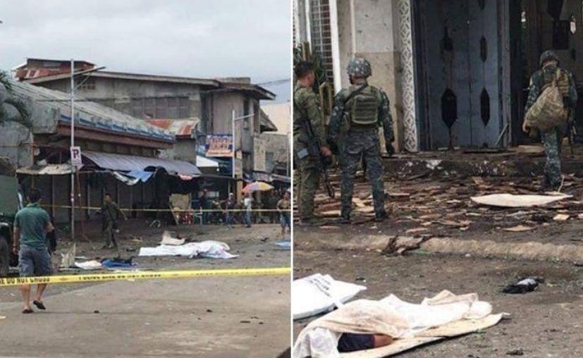 La segunda bomba estalló cuando fuerzas de seguridad atendían el reporte de la primera explosión. (Foto: Internet)