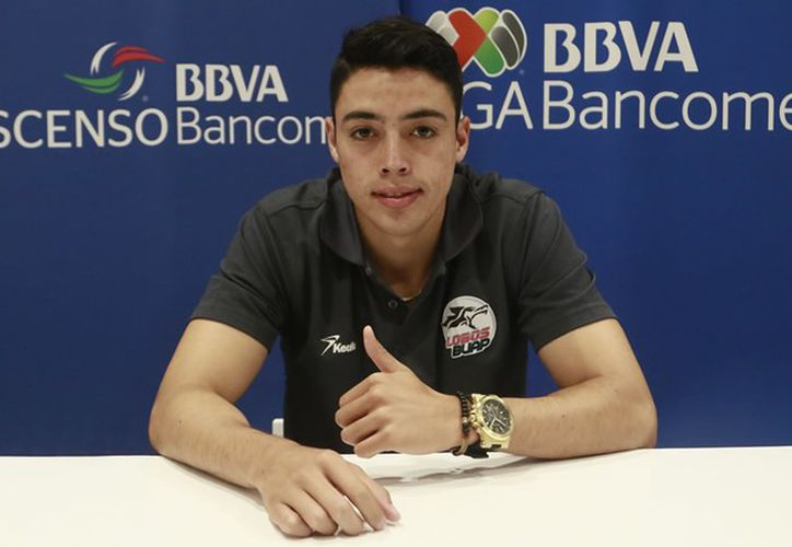 En su primer año en Primera División, se consolidó como titular en la defensa del conjunto poblano. (Foto: Imago7).