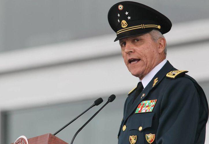 El Secretario de la Defensa Nacional dijo que las Fuerzas Armadas seguirán cumpliendo su misión con lealtad y compromiso. (Archivo/Notimex)