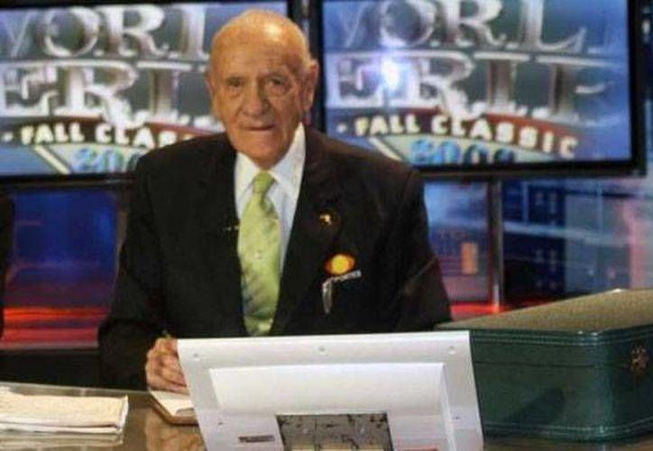 Pedro 'El Mago' Septién era una auténtica enciclopedia del beisbol. Falleció anoche. (noticierostelevisa.esmas.com)