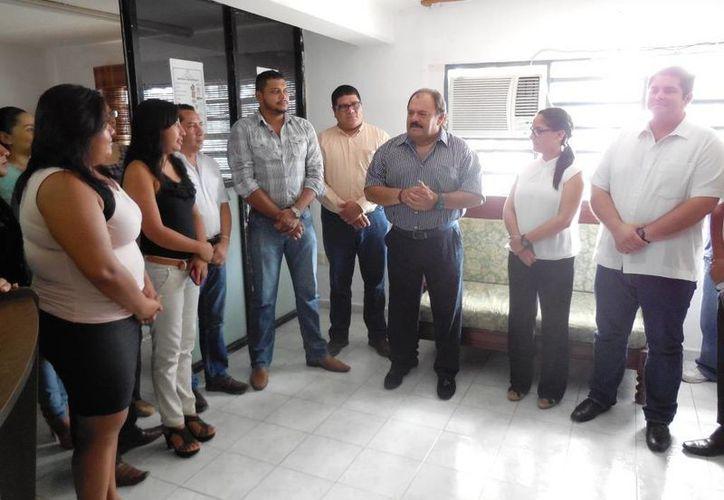 El presidente municipal destacó los avances de la Dirección de Planeación en las que se ha tenido importantes resultados en beneficio de la población capitalina. (Harold Alcocer/SIPSE)