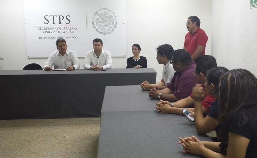 La ceremonia de clausura y entrega de las constancias se llevó a cabo en las oficinas de la Secretaría Federal del Trabajo y Previsión Social. (Redacción/SIPSE)
