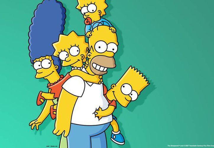 Homero Simpson y su familia llegan al país carioca para participar en la fiesta del futbol. (thesimpsons.com)