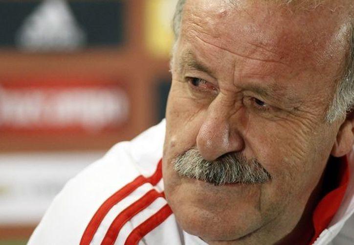 Del Bosque aseguró que dirigir un equipo a sus 61 años es ya complicado. (Foto: Agencias)