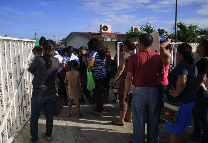 Las preinscripciones en escuelas públicas será del 3 al 16 de febrero en Quintana Roo. (Harold Alcocer/SIPSE)