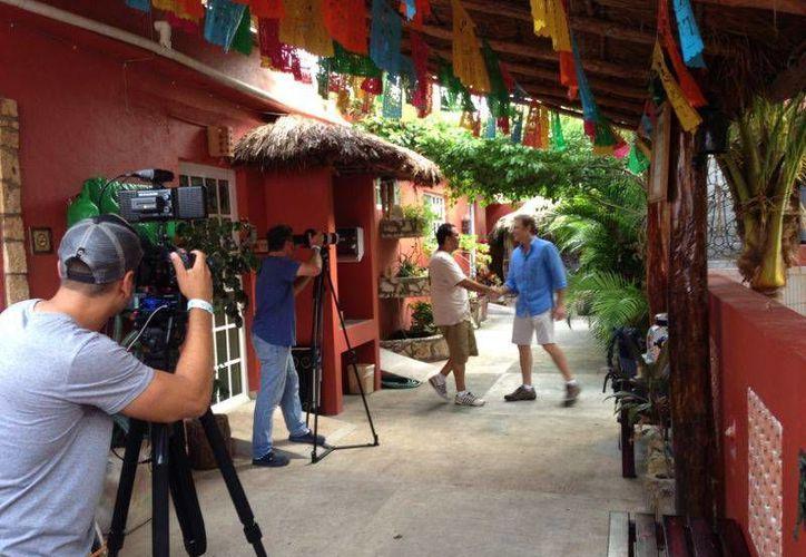 La filmación de diferentes locaciones inició el 4 de julio. (Redacción/SIPSE)