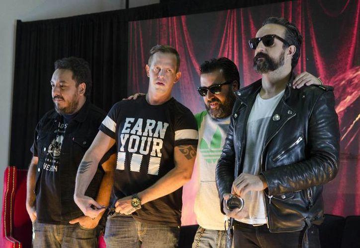 Molotov presentó 'Agua maldita' su primera producción discográfica con nuevas canciones en siete años. (AP)