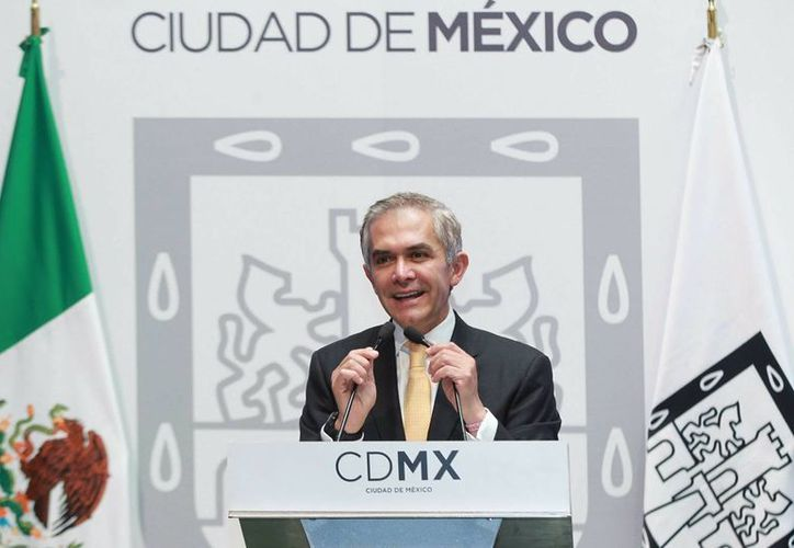 El jefe de Gobierno de la Ciudad de México, Miguel Ángel Mancera, afirma que en la entidad no operan cárteles del narco. (Archivo/Notimex)