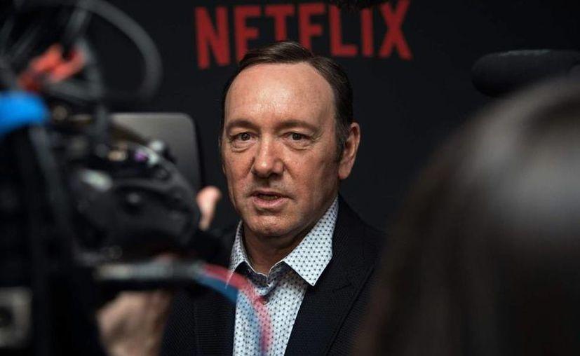 """El actor Kevin Spacey convirtió el set del programa """"House of Cards"""", de Netflix, en un entorno de trabajo """"tóxico"""". (Contexto)"""