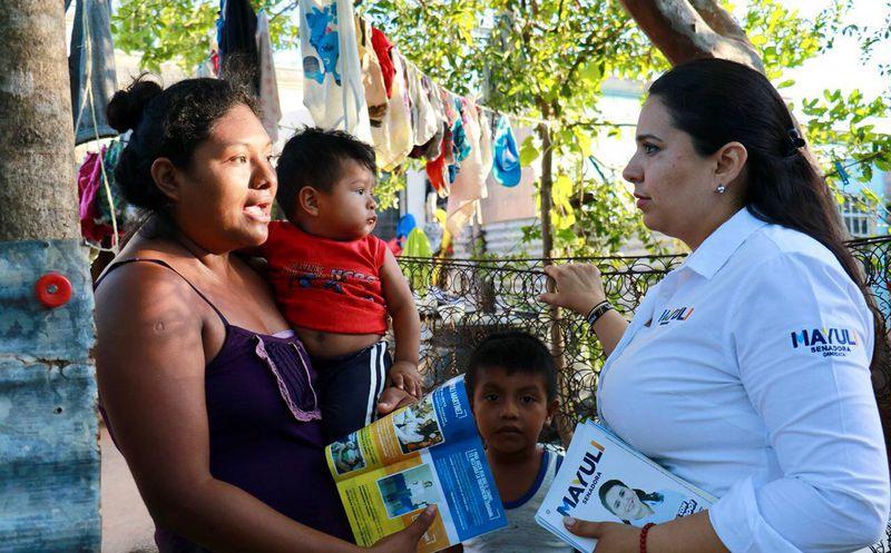 Mayuli Martínez, planteó crear una estrategia nacional de prevención del feminicidio. (Foto: Redacción/SIPSE)