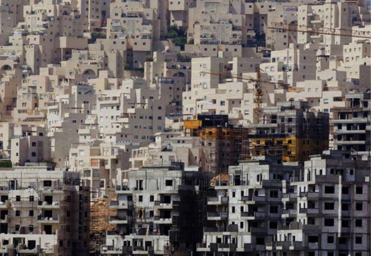 El levantamiento de casas en zonas en conflicto ha causado distanciamiento entre Israel y Estados Unidos. (AP)