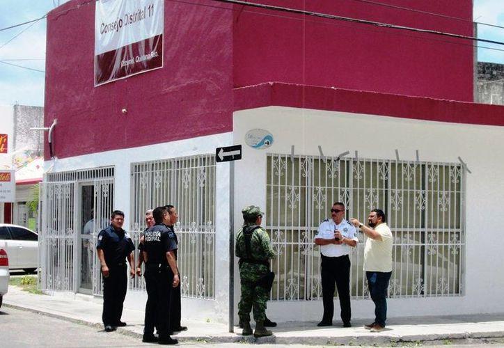 El material electoral llegará a Cozumel antes del 29 de mayo. (Irving Canul/SIPSE)