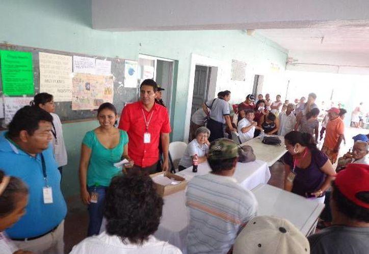 En esta ocasión correspondió el turno a Chelem y Chuburná Puerto. (Manuel Pool/SIPSE)