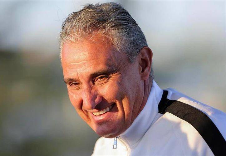 Adenor Leonardo Bacchi 'Tite' es un referente en el futbol brasileño y ha sido campeón de liga en varias ocasiones. (EFE)