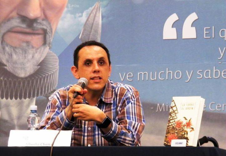 Alberto Chimal, escritor. (Milenio Novedades)