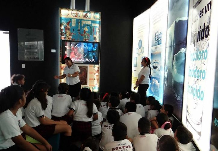 El Museo del Agua atrajo a más de 25 mil estudiantes en menos de un año. (Israel Leal/SIPSE)