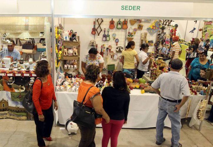 La Expocampo reunió a unas 80 mil personas en el salón Chichén Itzá del Centro de Convenciones Siglo XXI. (Milenio Novedades)