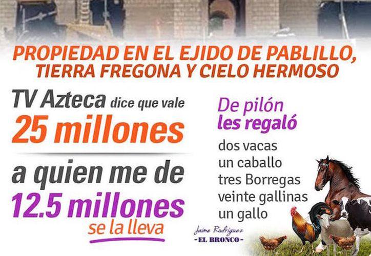 El mandatario de Nuevo León anunció un regalo a quien decida comprar la propiedad. (Foto: Facebook)