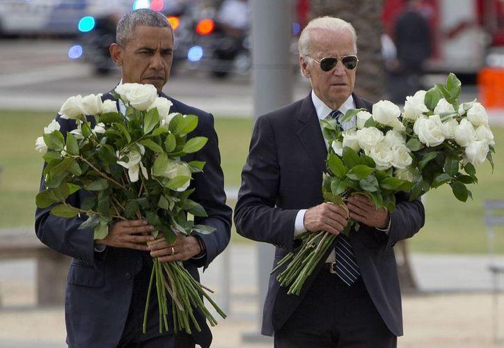 Obama se ha visto obligado en varias ocasiones durante su mandato a visitar localidades afectadas por tiroteos. (AP)