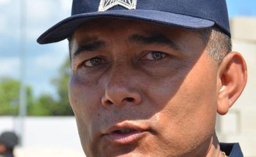 Rodolfo del Ángel Campos busca garantizar la seguridad pública. (Yenny Gaona/SIPSE)