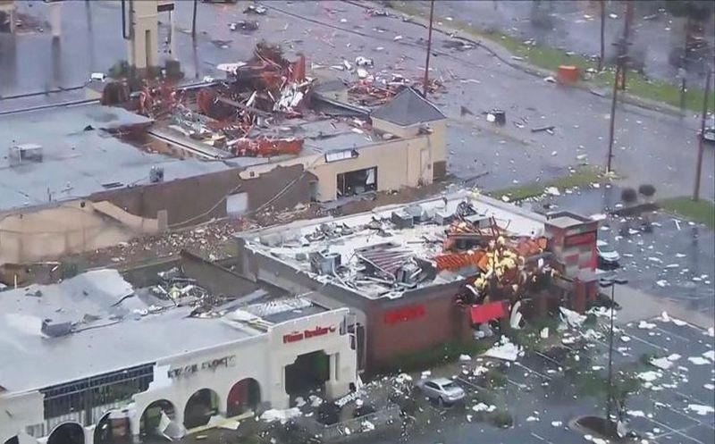 Tornado en Oklahoma deja 30 heridos (Impresionantes fotos)