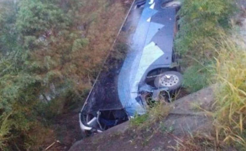 De acuerdo a reportes preliminares el camión se dirigía a Tamaulipas. (Vanguardia)