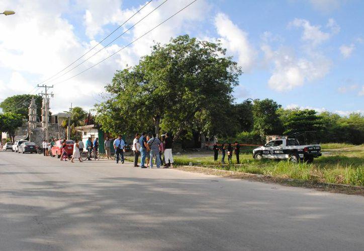 """El asesinato se registró cerca de la iglesia conocida como de """"Piedra"""". (Eric Galindo/SIPSE)"""