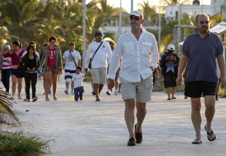 Esperan que para el 31 de diciembre y 1 de enero, Majahual sea la primera opción de los visitantes de la región. (Harold Alcocer/SIPSE)