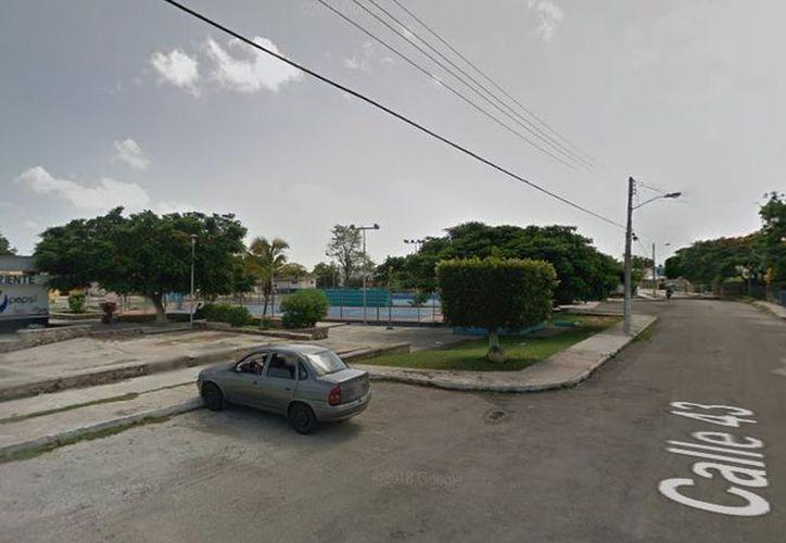El abuso contra la menor se presentó en el parque El Pez Volador de Pacabtún. (Google Maps)