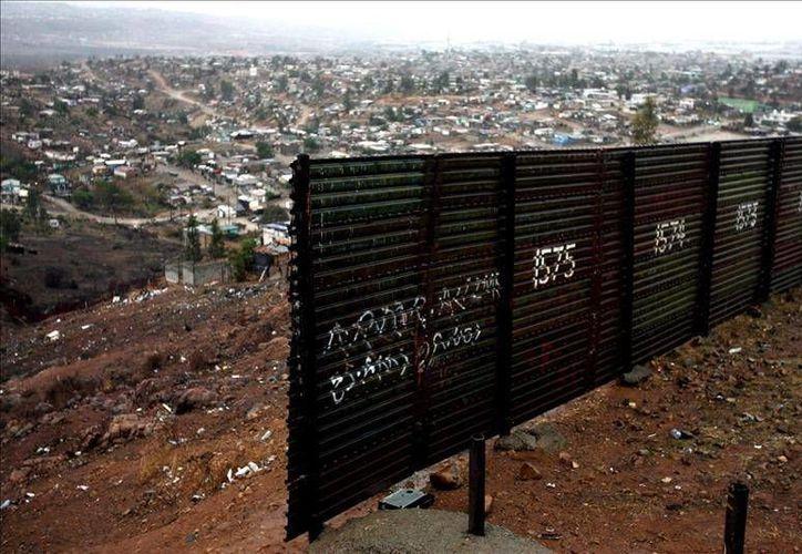 La frontera de Estados Unidos con México es la principal vía de ingreso de  indocumentados. Imagen de contexto. (Archivo EFE)