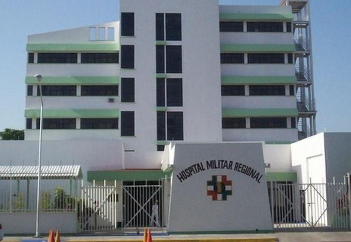La próxima semana comienza la demolición del antiguo Hospital Militar Regional de Especialidades, para dar paso a uno nuevo. (Archivo/SIPSE)