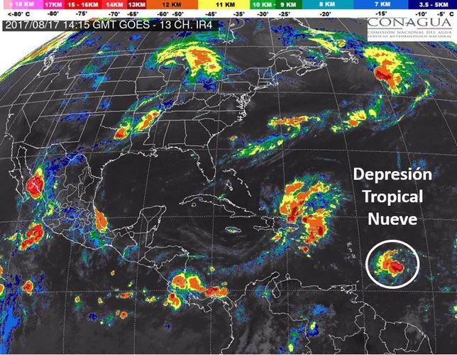 #EnVivo depresión tropical Harvey