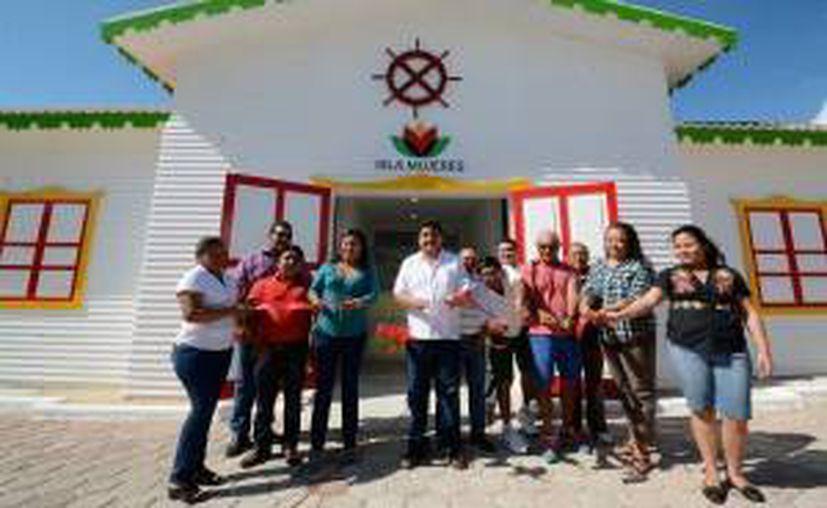 Esta semana autoridades municipales y empresariales inauguraron las instalaciones sanitarias del Paso de la Trigueña. (Redacción/SIPSE)