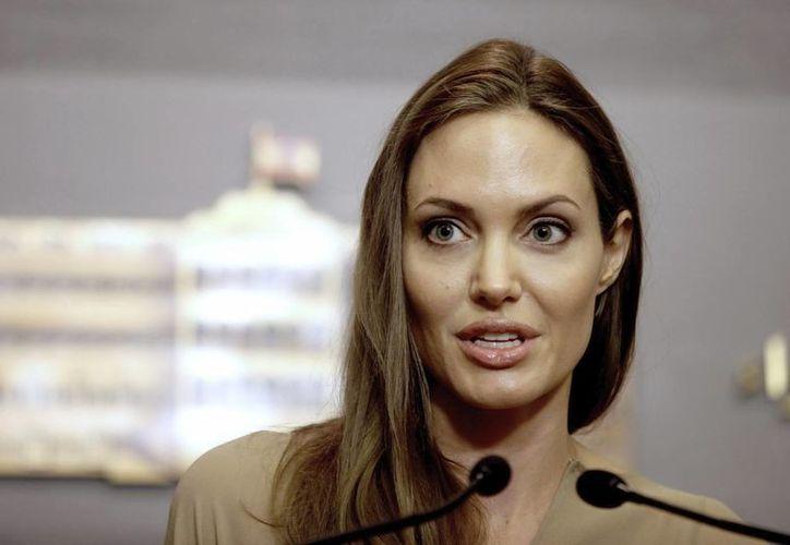 Angelina Jolie perdió a su madre debido a un cáncer. (EFE)