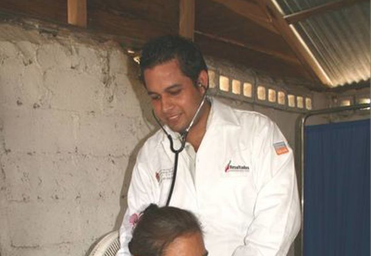 Hospital de Bacalar disminuye incidencias. (Harold Alcocer/SIPSE)