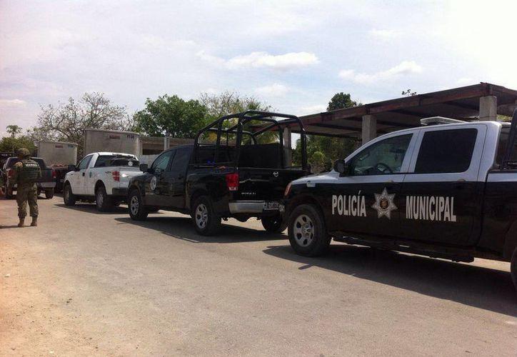 Los deshuesaderos de vehículos de Kanasín fueron objeto de revisión por parte de las autoridades. (SIPSE)