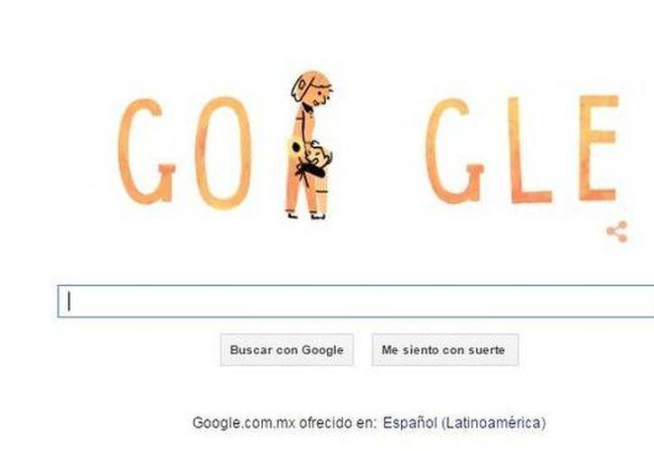 Una pata, una leona y una coneja, así como una señora, aparecen en el doodle de Google para reconocer a todas las madres en su día. (Google)