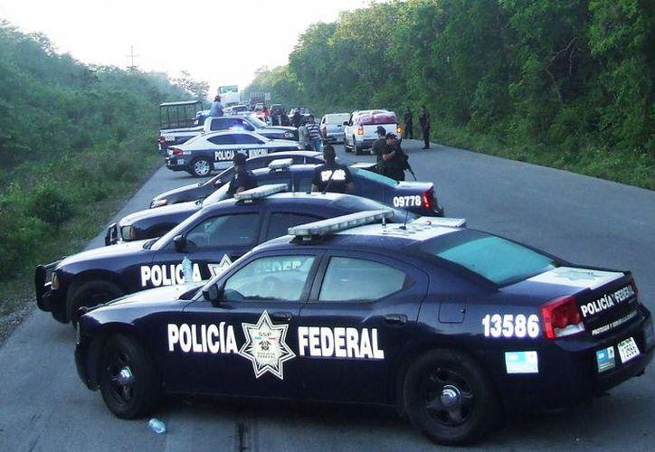 La Policía Federal participará en el operativo vacacional de Semana Santa. (Rossy López/SIPSE)