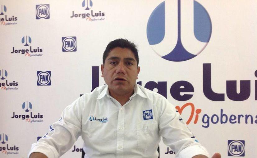 Jorge Luis Preciado es el abanderado del PAN para contender por el gobierno de Colima en las elecciones de este 17 de enero. (Archivo/Notimex)