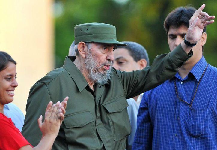 Varios dignatarios extranjeros expresaron su admiración por Fidel Castro Ruiz, quien cumple 90 años de vida. (EFE/Archivo)