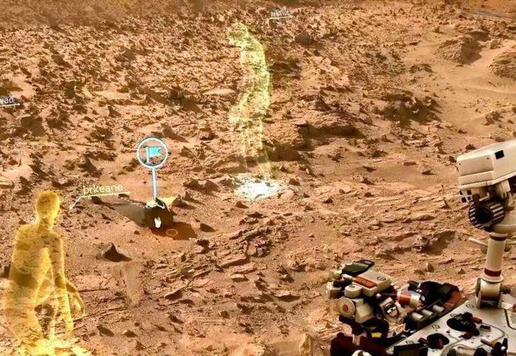 OnSight permitirá a los científicos estudiar marte en una forma más natural y humana. (mars.nasa.gov)