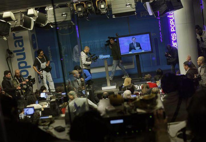 Llamó la atención la comparecencia del mandatario ante los medios a través de un video. (Agencias)