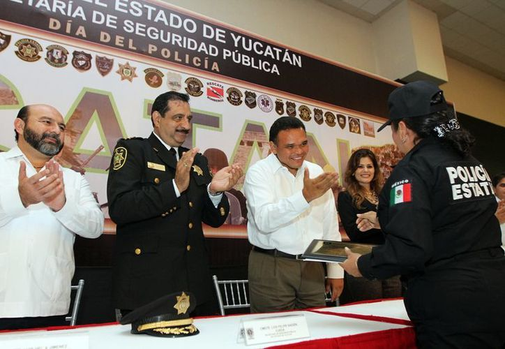 Zapata Bello garantiza un combate efectivo contra la delincuencia en el estado y una sólida acción policiaca. (Archivo SIPSE)