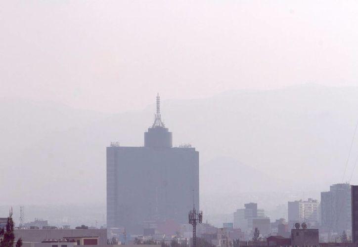 La de este lunes es la quinta contingencia ambiental decretada en la Ciudad de México en lo que va de 2016. (Archivo/Notimex)
