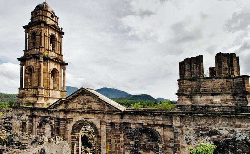 En 1944, el volcán acabó con dos pueblos, quedando solo los restos a su alrededor. (Foto: Pinterest)