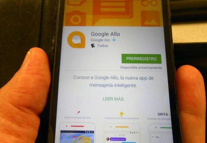 La app 'Allo', de mensajería instantánea, de Google, ya está disponible para sistemas iOS y Android. (SIPSE.com)